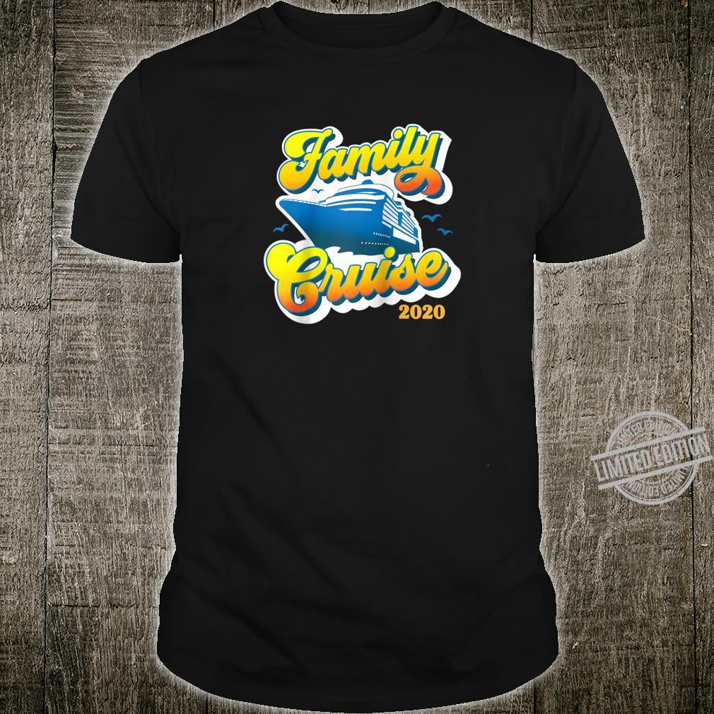 2020 Family Cruise Retro Matching Shirt Cruising Shirt