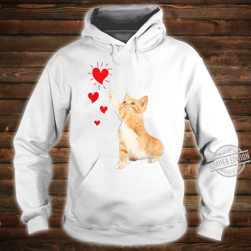 Cute Valentine Kitty Valentine's day Cute Cat Shirt hoodie