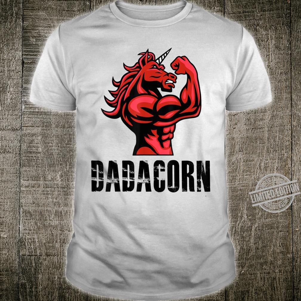 Dadacorn Unicorn for Dad Shirt