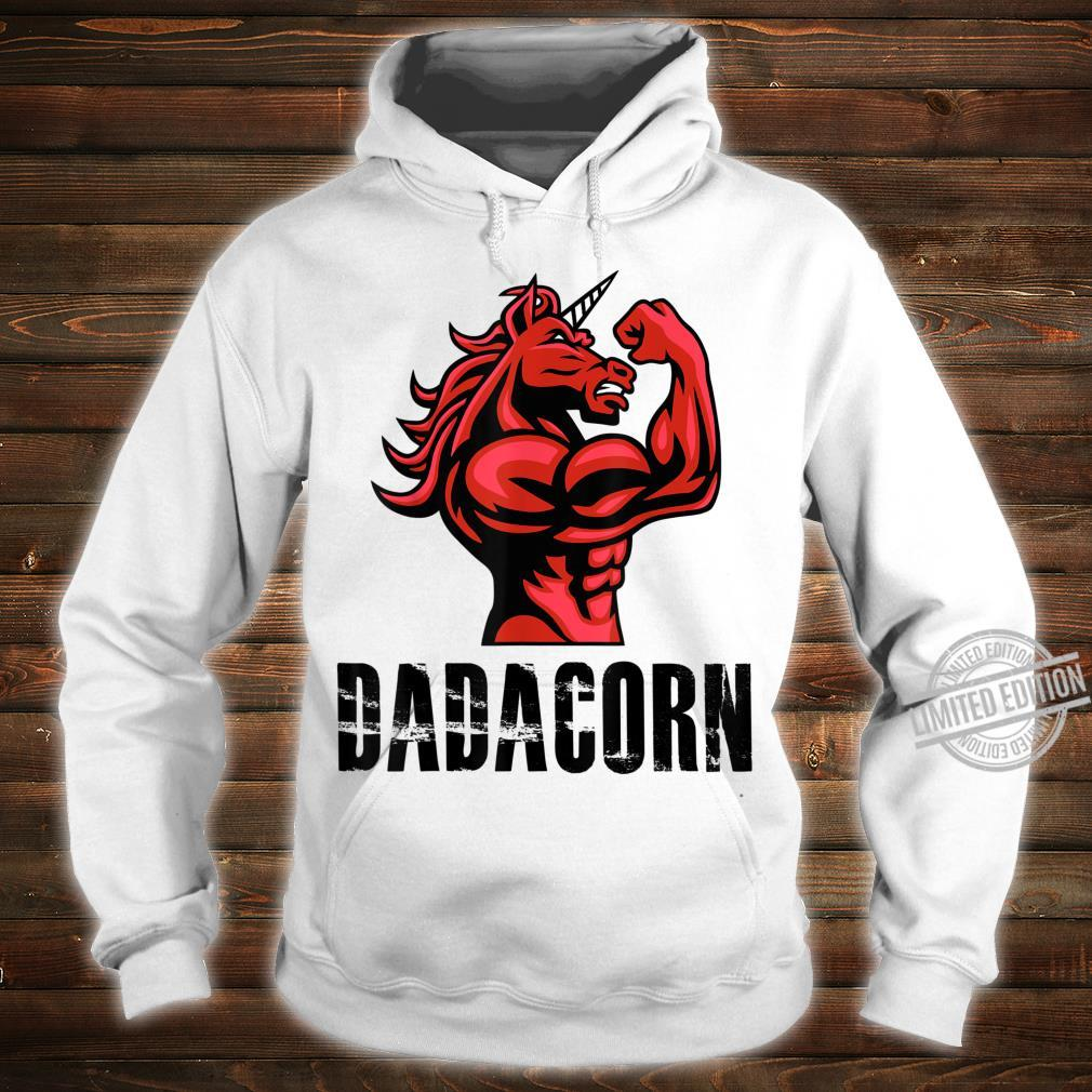 Dadacorn Unicorn for Dad Shirt hoodie