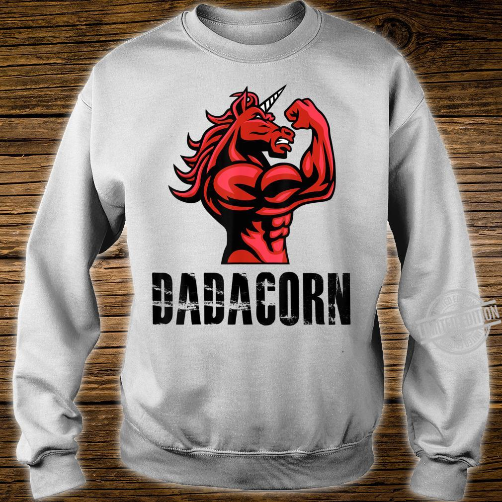 Dadacorn Unicorn for Dad Shirt sweater