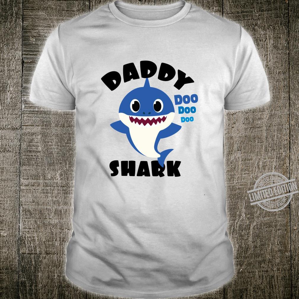 Daddy Shark for Dad Shark Baby Cute Matching Family Shirt