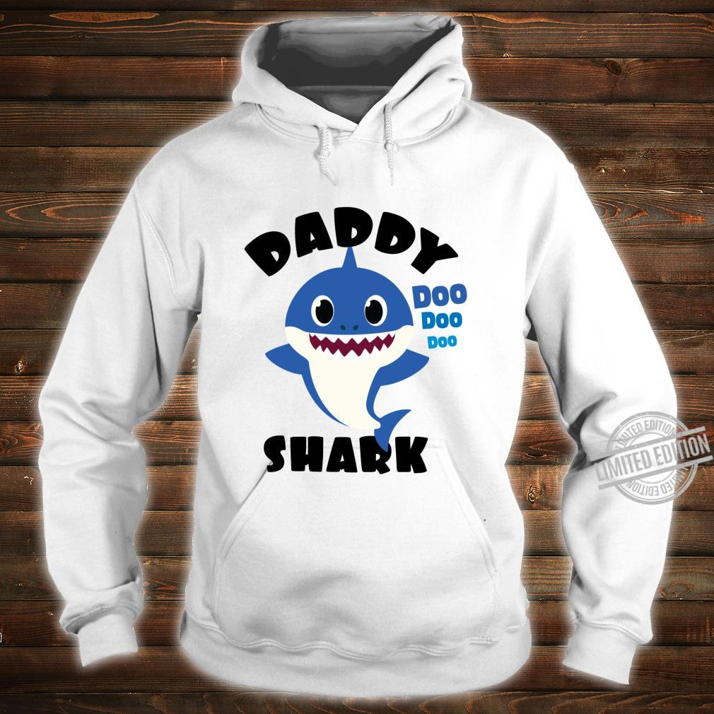 Daddy Shark for Dad Shark Baby Cute Matching Family Shirt hoodie