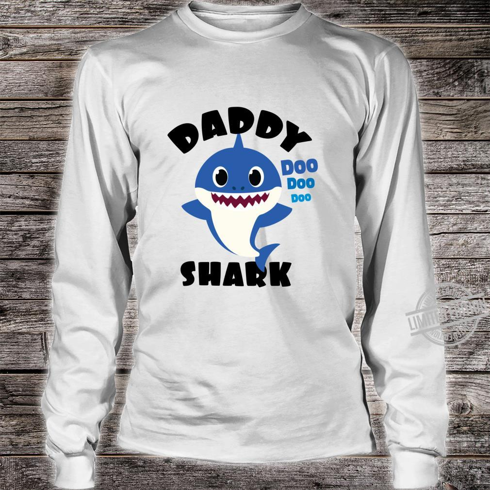Daddy Shark for Dad Shark Baby Cute Matching Family Shirt long sleeved
