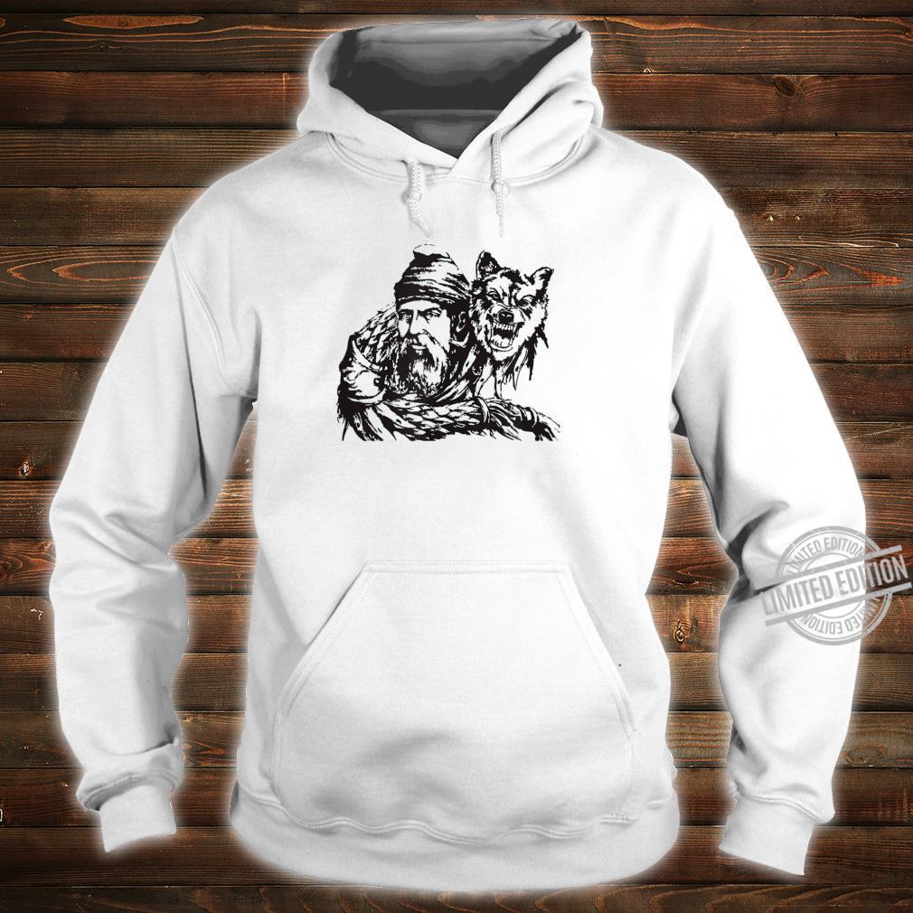 Decebal and the Wolf Flag Vallachia King Romania Ruler Shirt hoodie