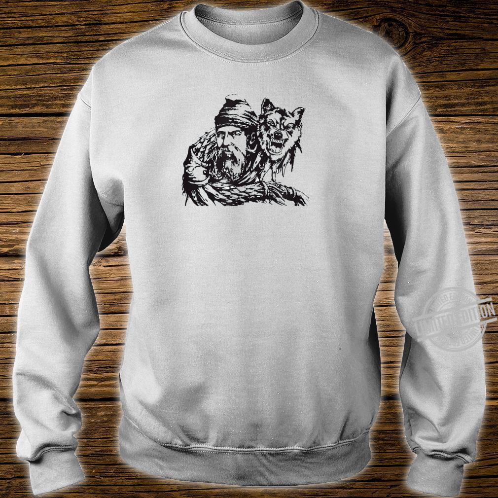 Decebal and the Wolf Flag Vallachia King Romania Ruler Shirt sweater