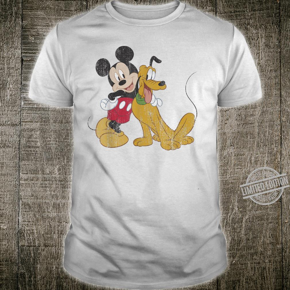 Disney Mickey & Friends Mickey And Pluto Best Pals Shirt
