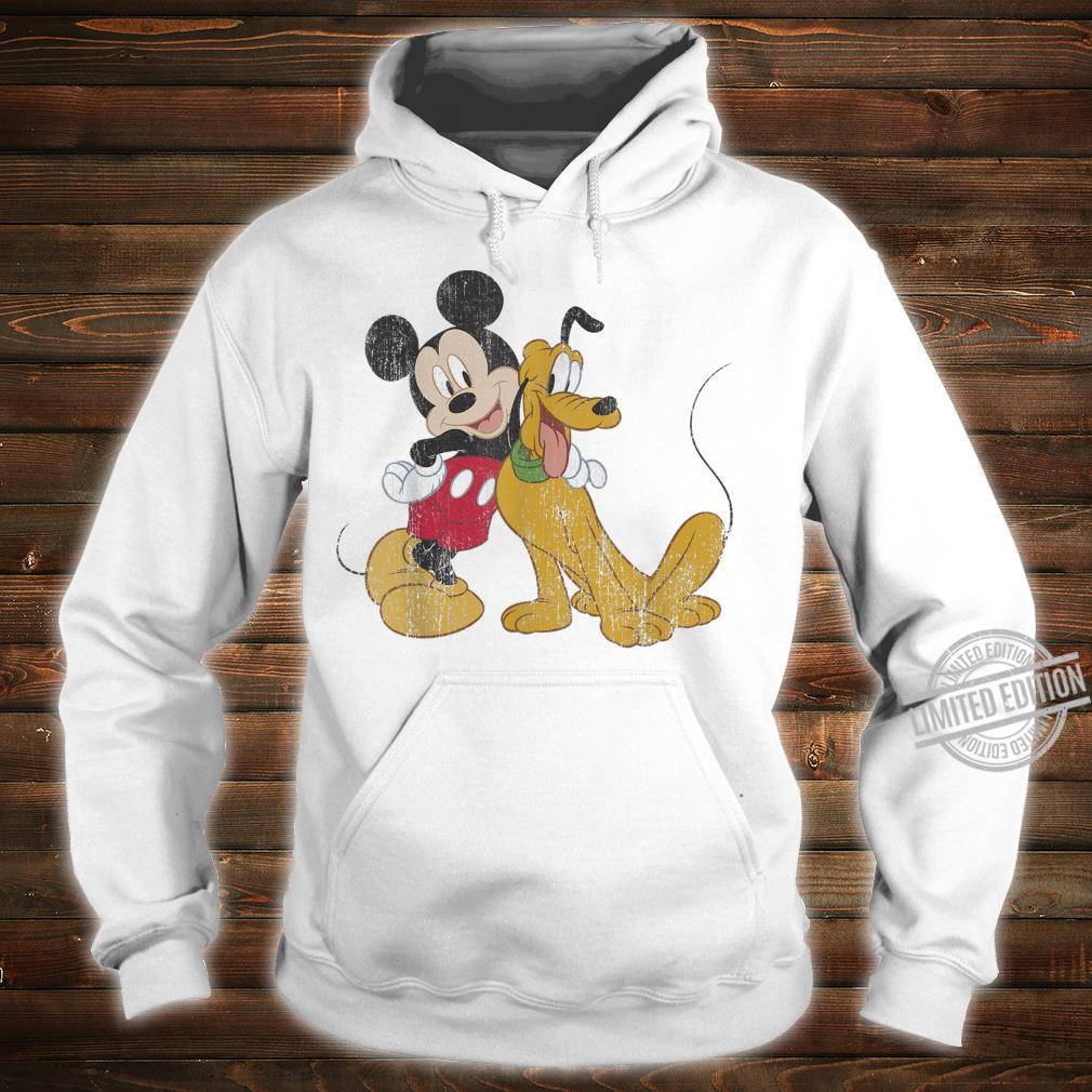 Disney Mickey & Friends Mickey And Pluto Best Pals Shirt hoodie