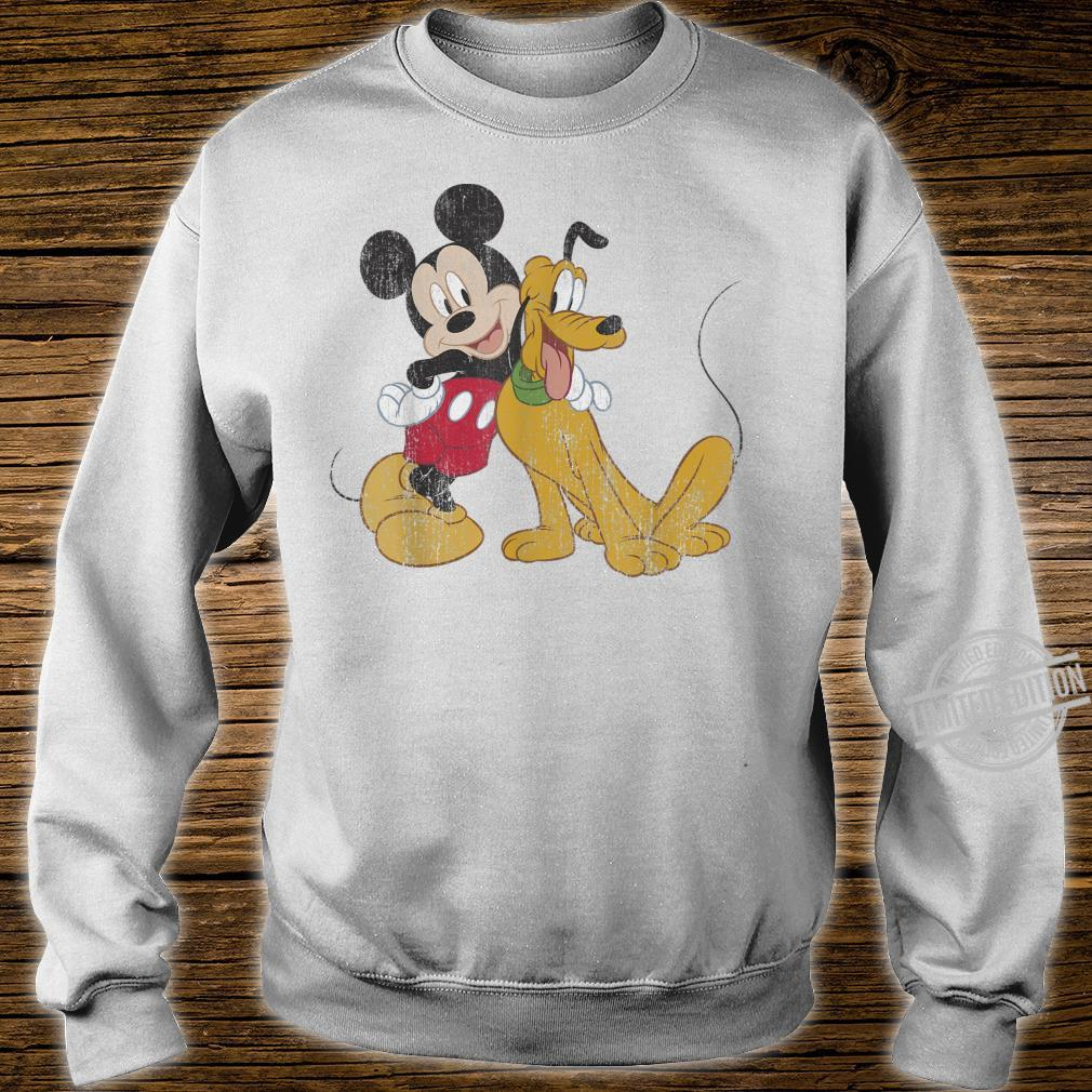 Disney Mickey & Friends Mickey And Pluto Best Pals Shirt sweater