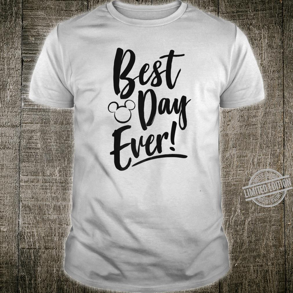 Disney Mickey And Friends Best Day Ever Text Shirt