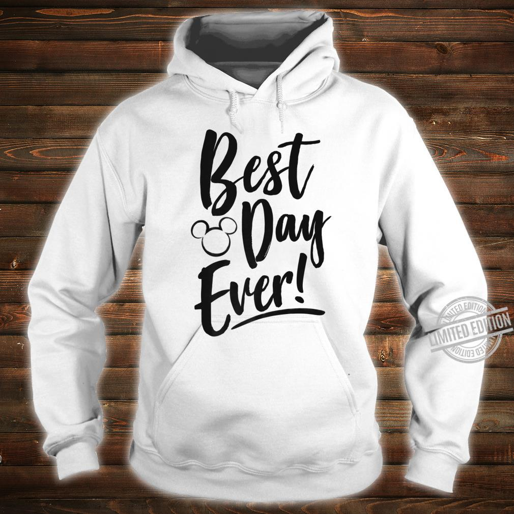 Disney Mickey And Friends Best Day Ever Text Shirt hoodie