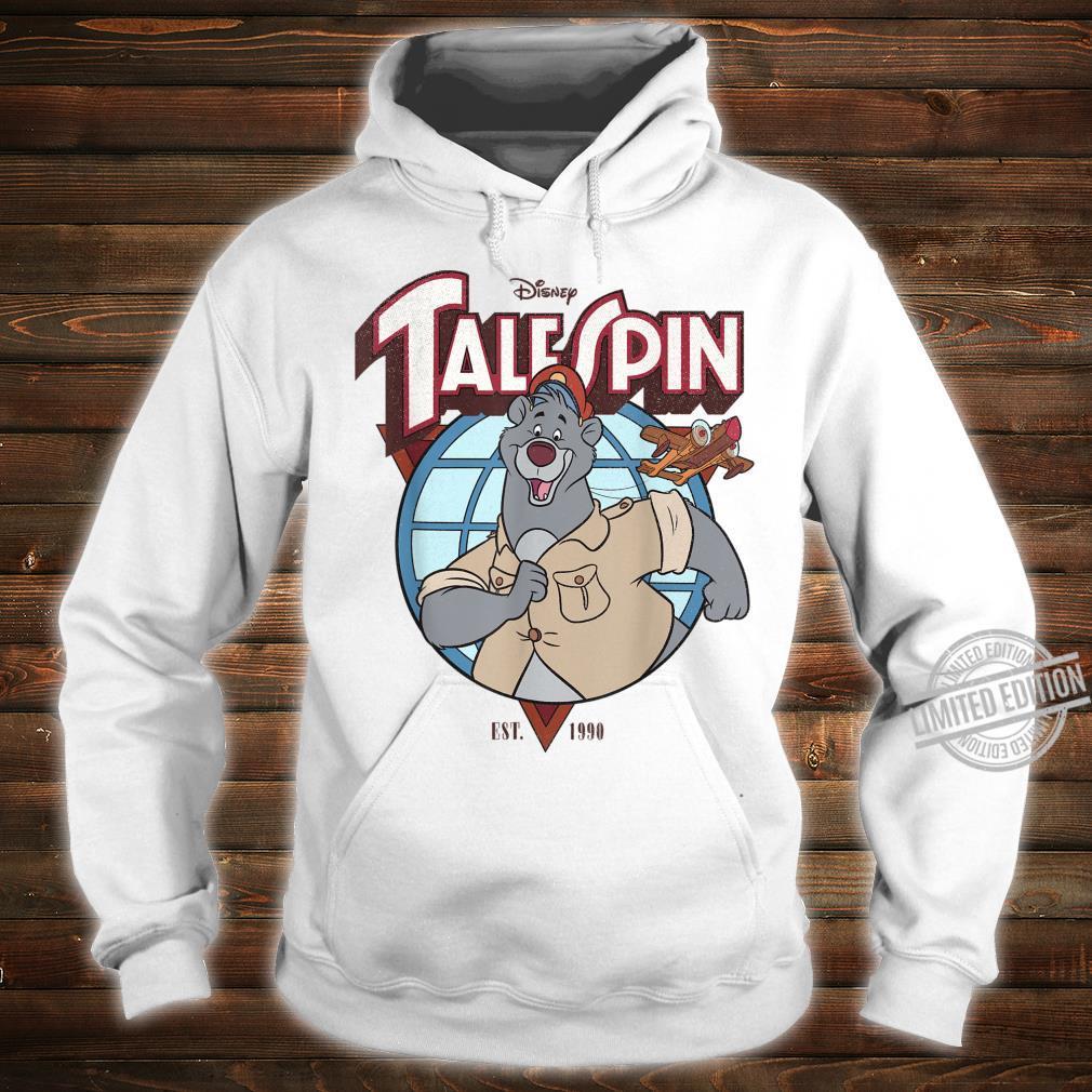Disney TaleSpin Baloo Logo Shirt hoodie
