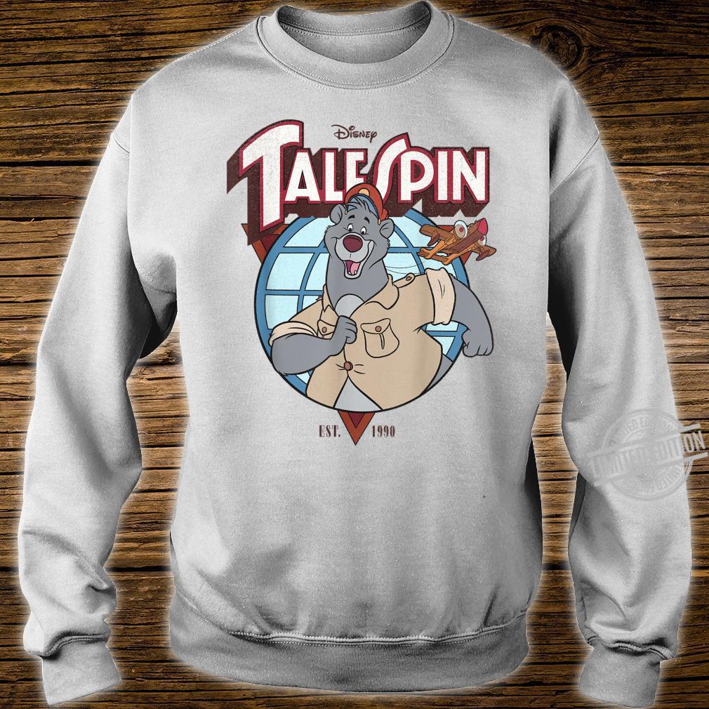 Disney TaleSpin Baloo Logo Shirt sweater