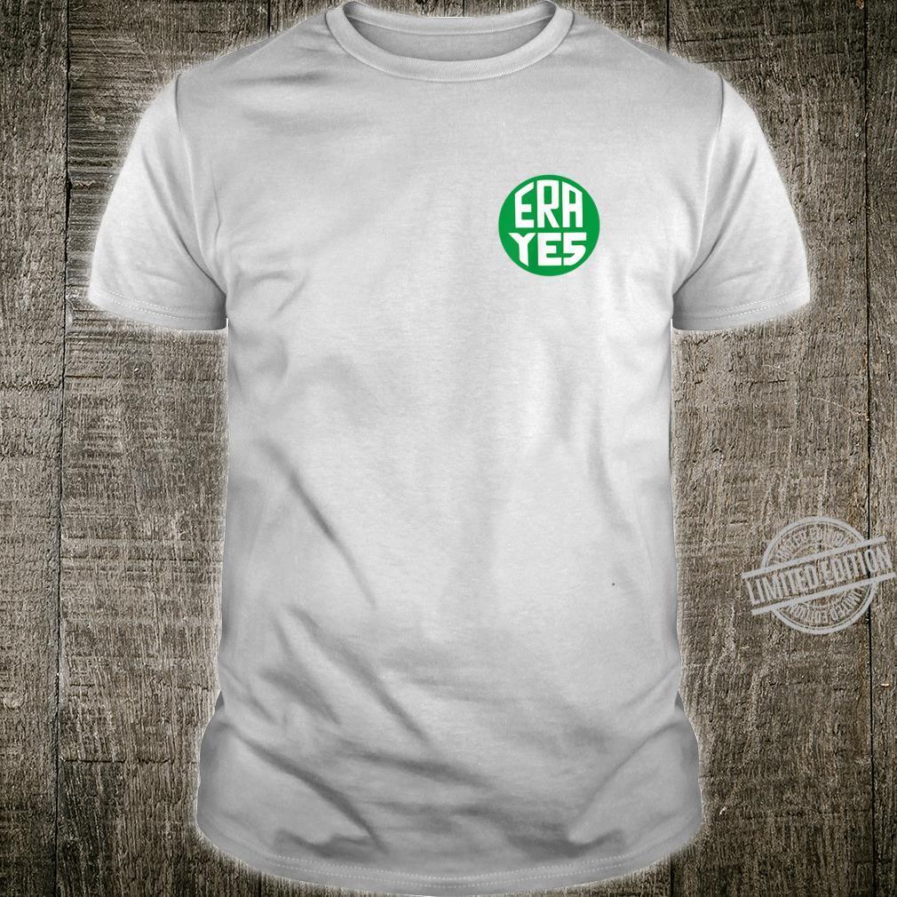 ERA Yes Button Pin Shirt