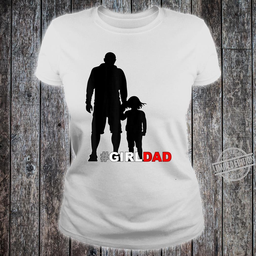 Father and Daughter holding hands Shirt ladies tee