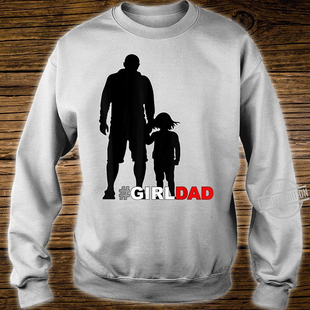Father and Daughter holding hands Shirt sweater