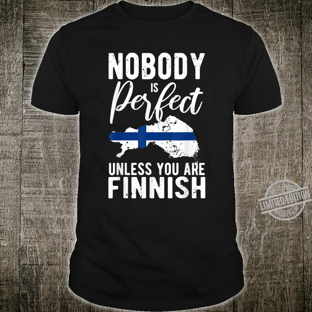 Funny Finland Idea Finnish's's Shirt