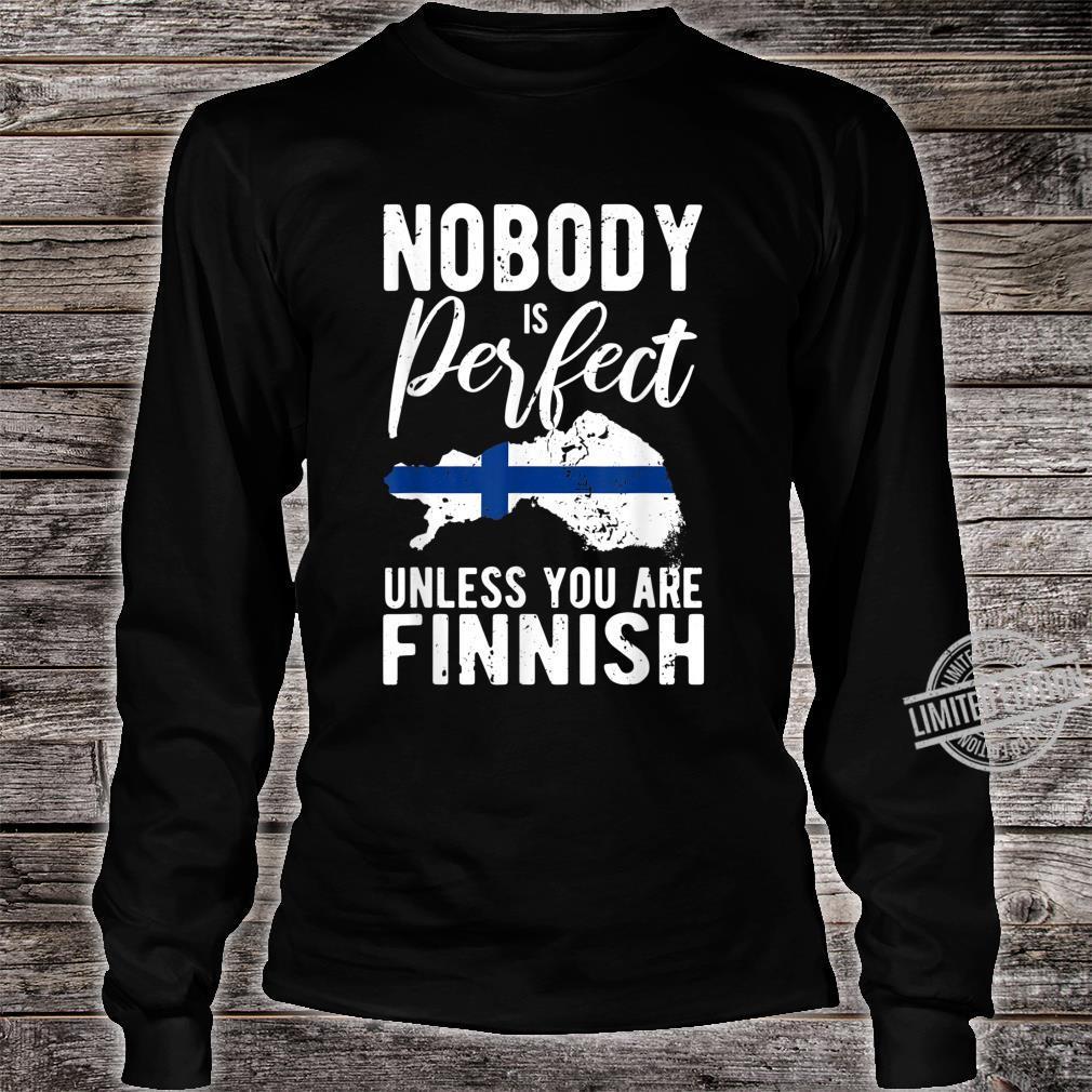 Funny Finland Idea Finnish's's Shirt long sleeved