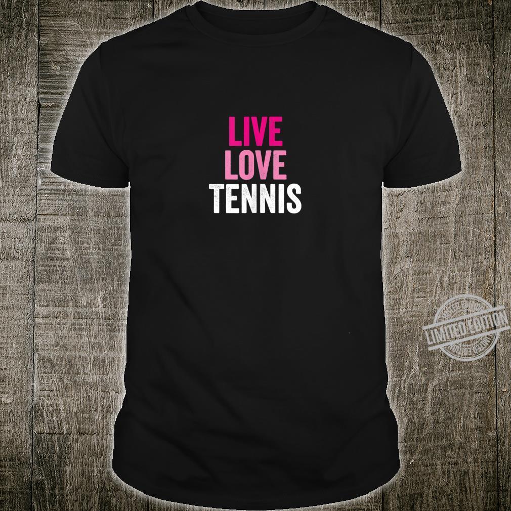 GIRLS LIVE LOVE TENNIS Shirt