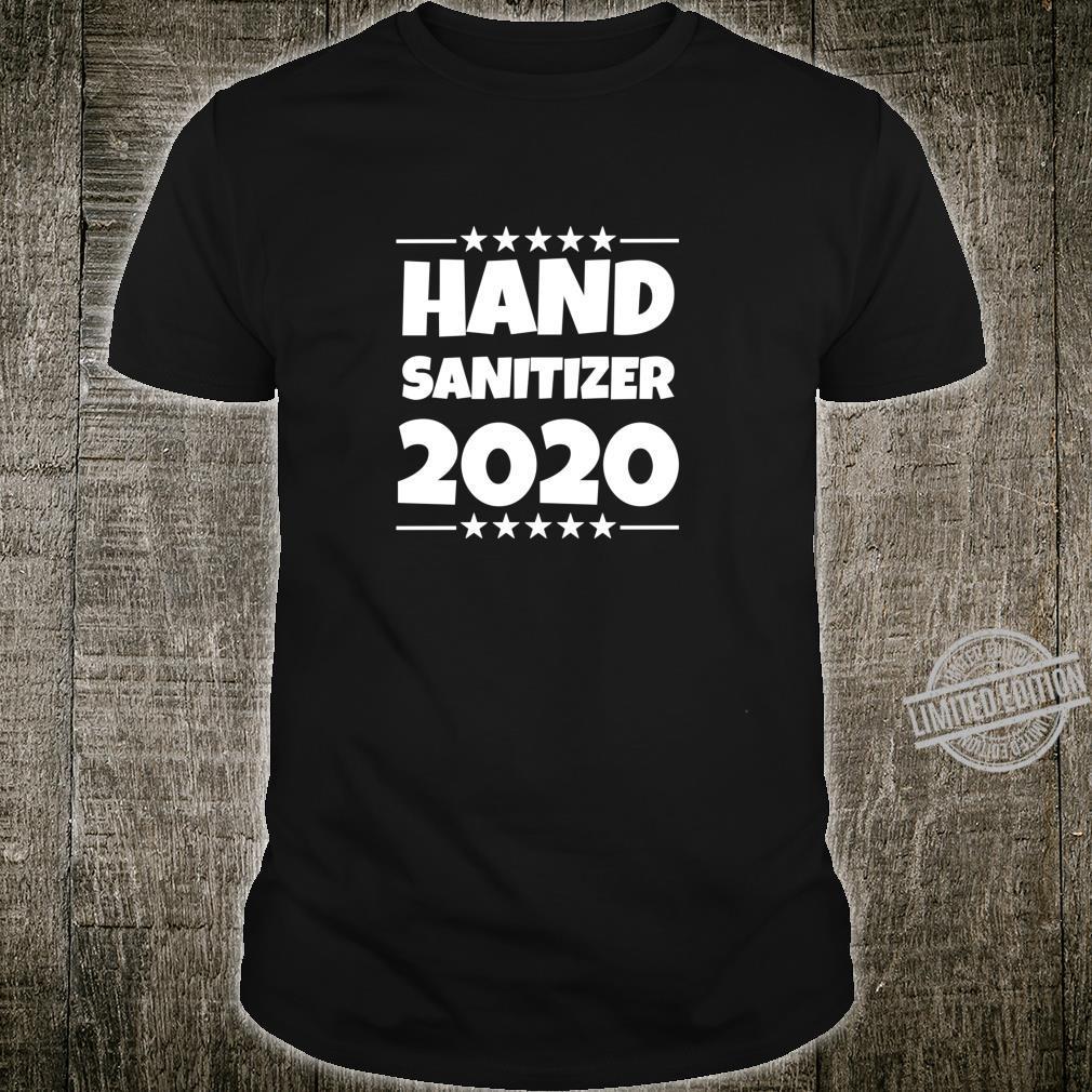 Hand Sanitizer Toilet Paper Crisit 2020 Election Shirt