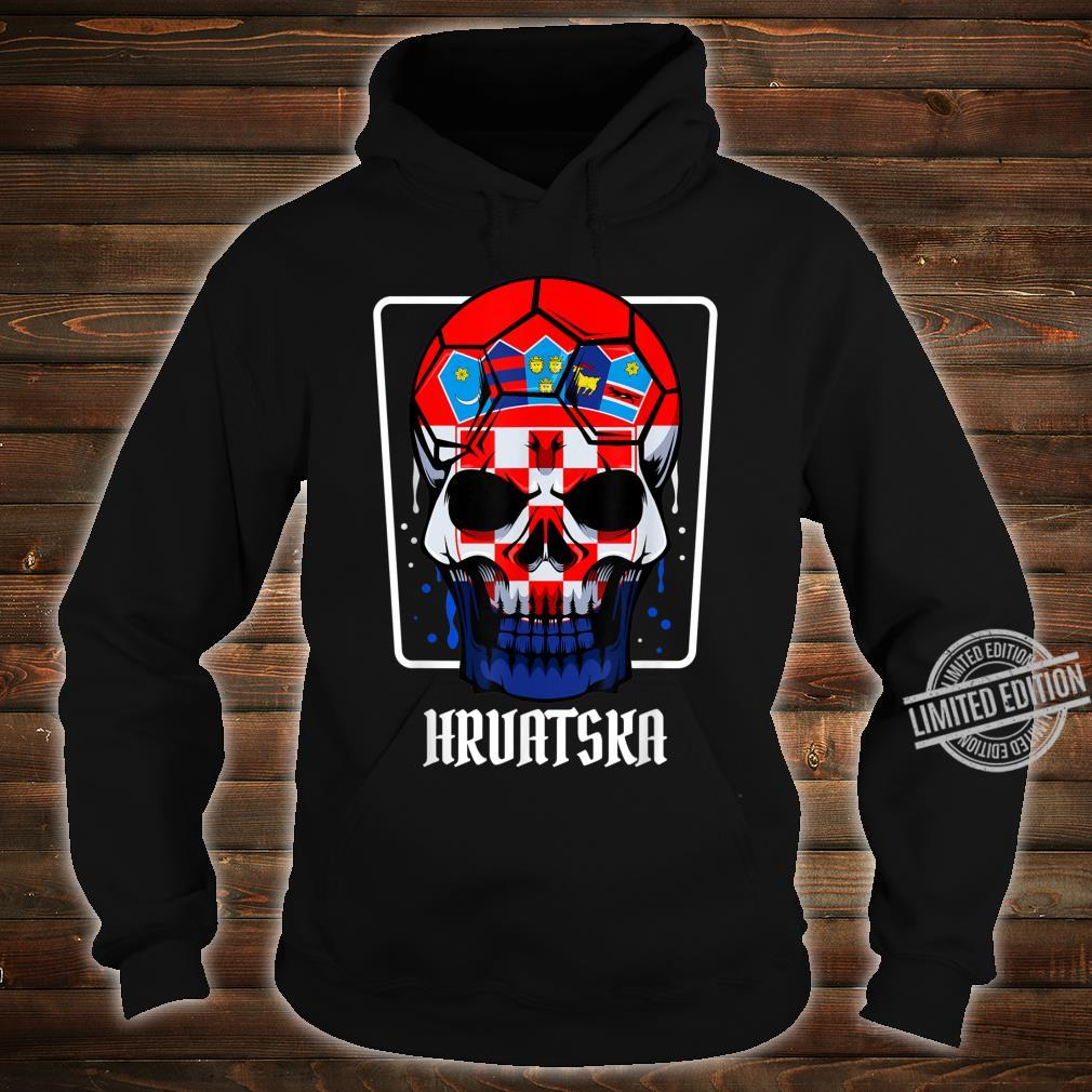 Kroatien Flagge Heimatland Hrvatska Sportveranstaltungen Shirt hoodie