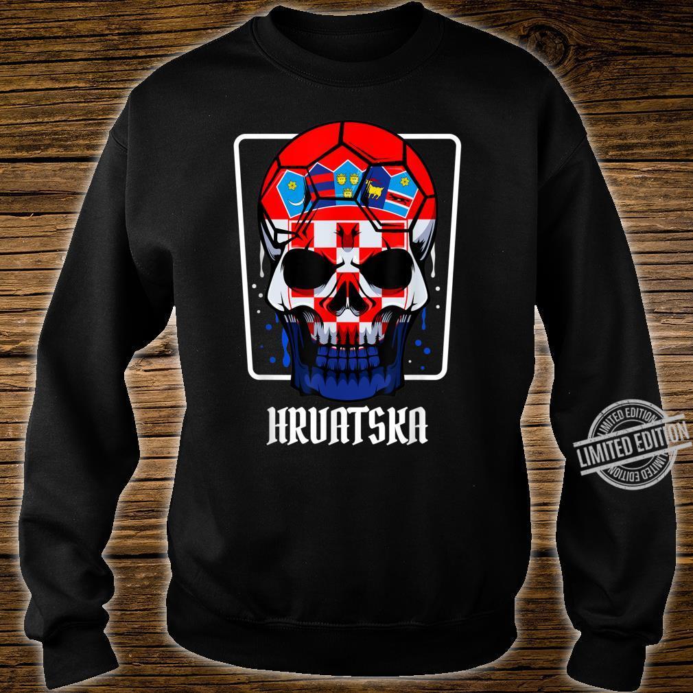 Kroatien Flagge Heimatland Hrvatska Sportveranstaltungen Shirt sweater