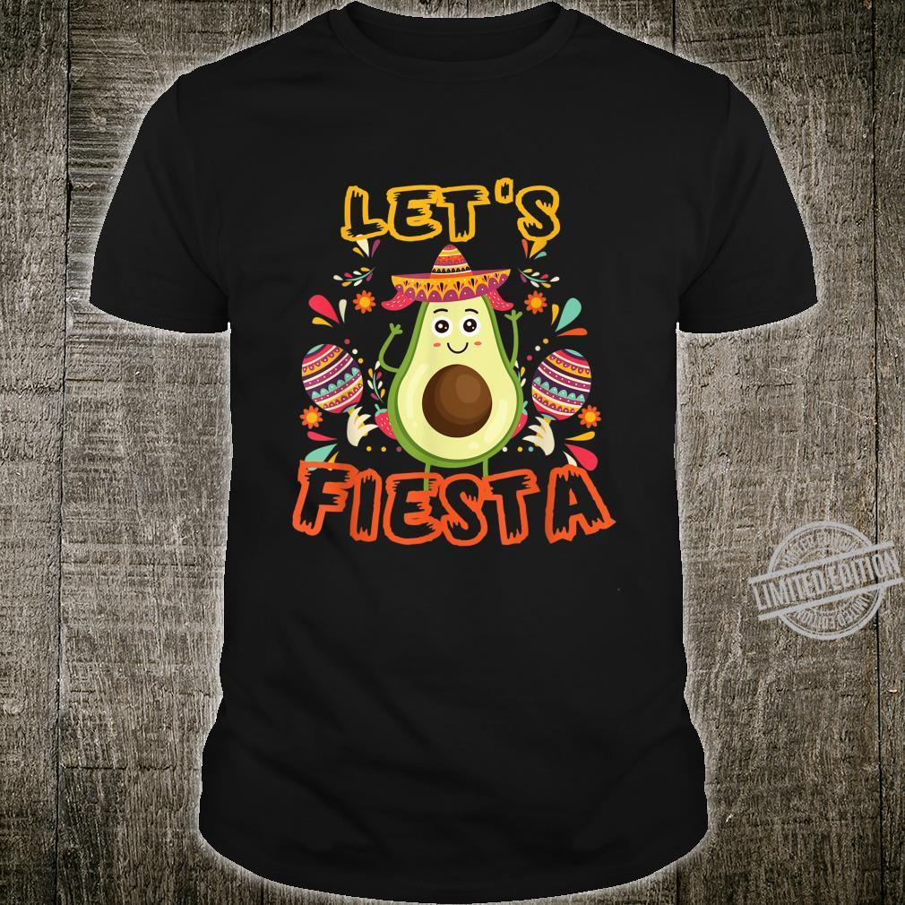 Let's Fiesta Cinco De Mayo Mexican Funnny Shirt
