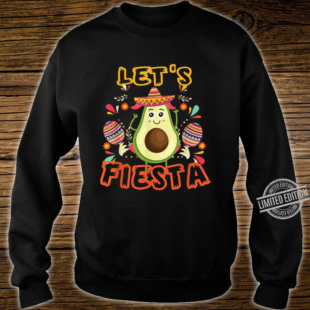 Let's Fiesta Cinco De Mayo Mexican Funnny Shirt sweater