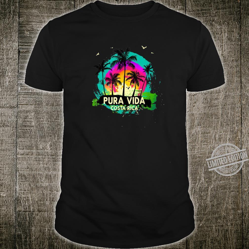 Pura Vida Souvenir Retro Sunset Shirt