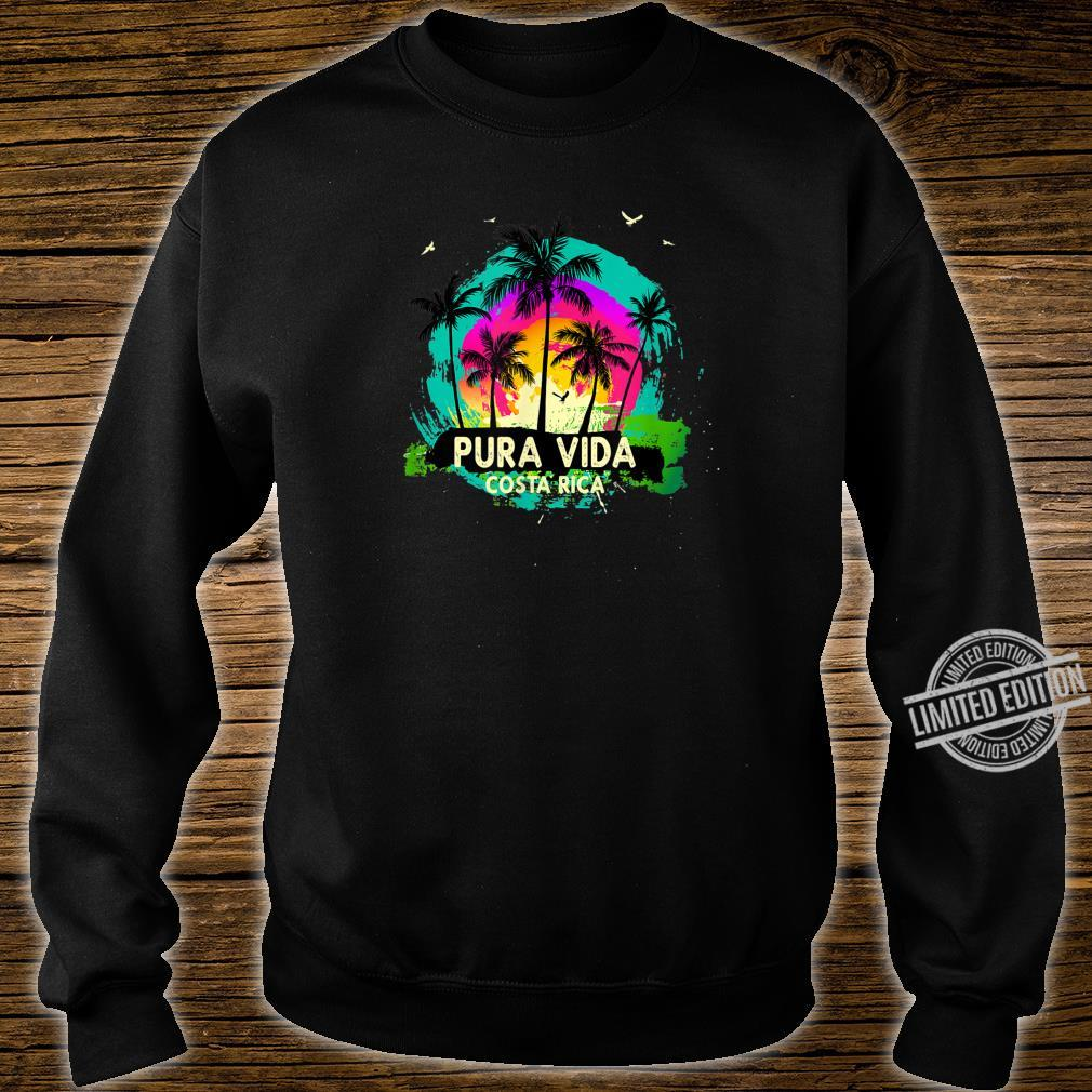 Pura Vida Souvenir Retro Sunset Shirt sweater