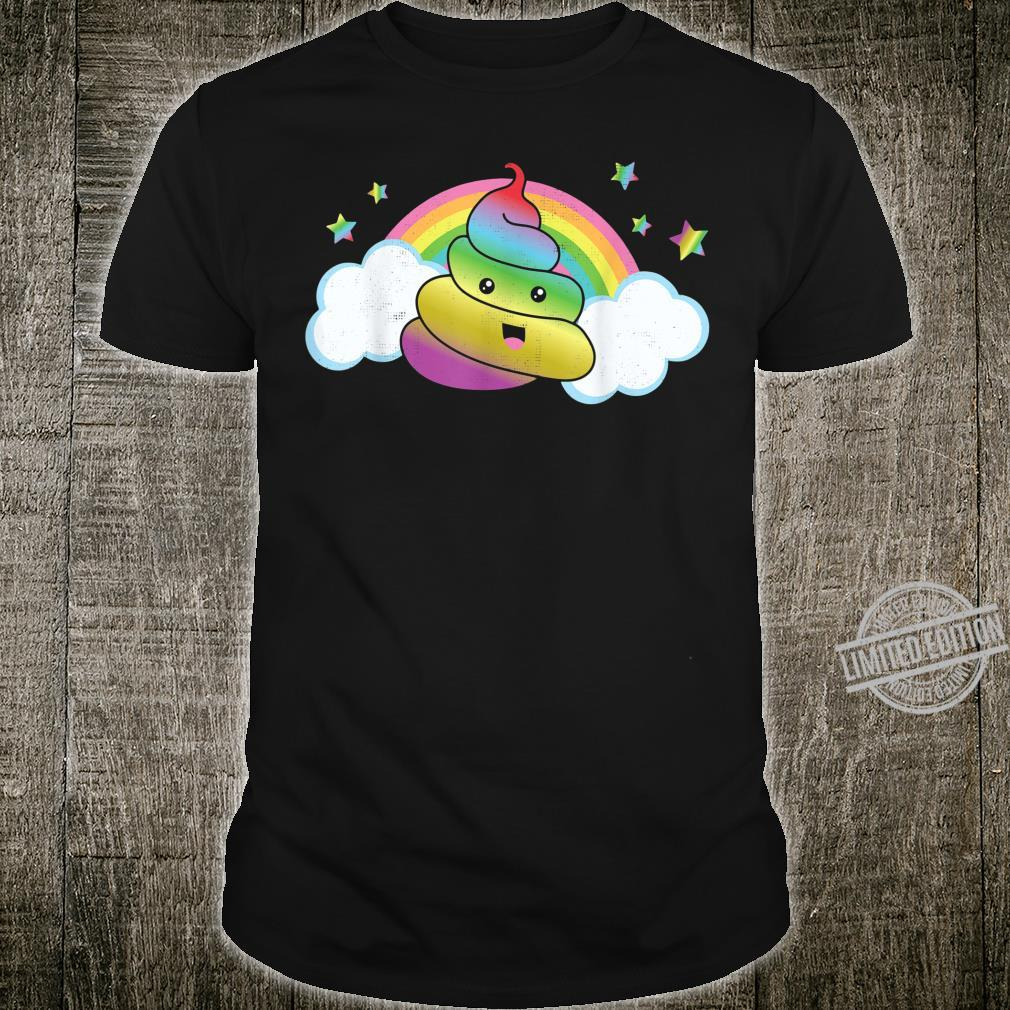 Rainbow Poo Magic Poo Unicorn Poo Shirt