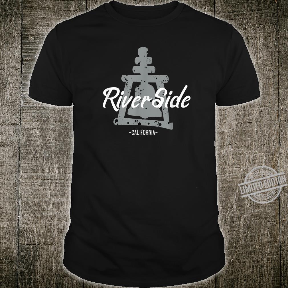 Riverside California with Rain Cross Logo Shirt